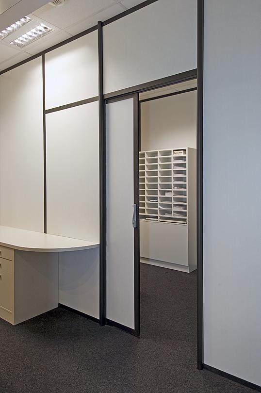 porte bureau coulissante bois