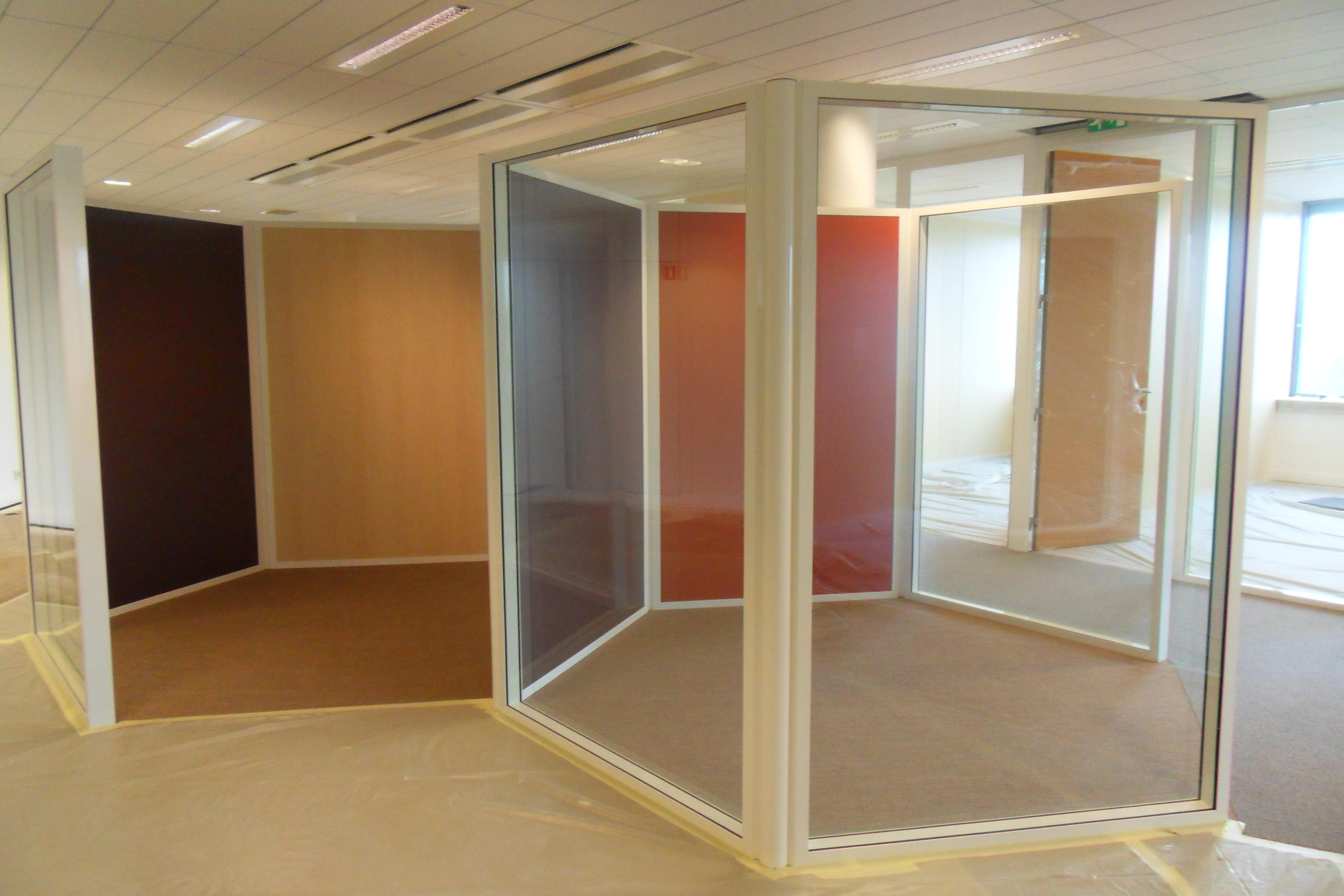 r alisations vitr e porte pleine espace cloisons alu ile de france agencement et am. Black Bedroom Furniture Sets. Home Design Ideas