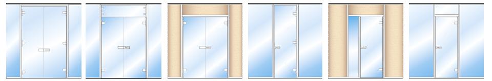 schema porte clarite vitrée