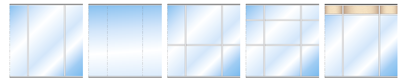 Cloisons vitrée