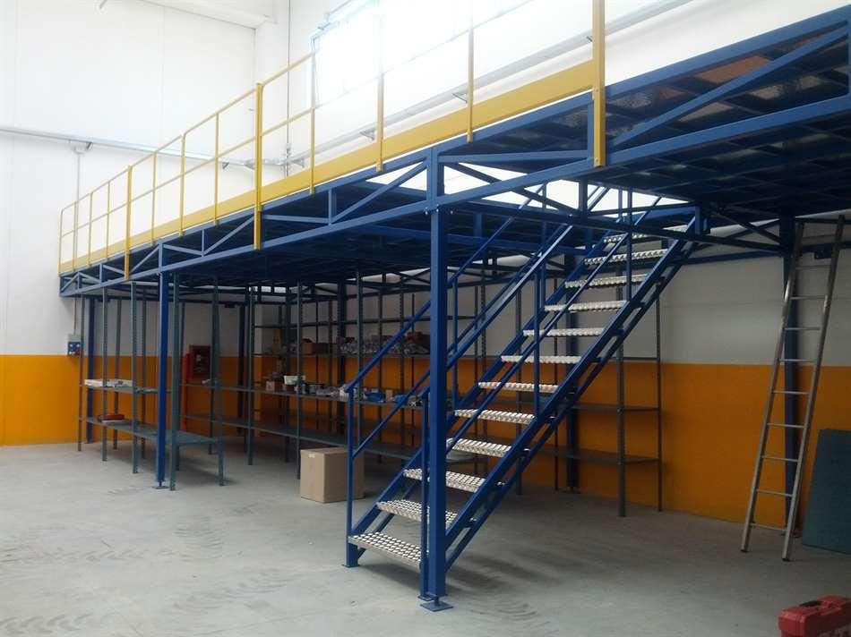 espace cloisons Alu plate-forme industrielle
