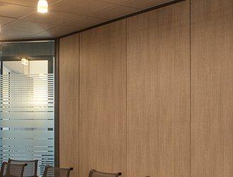 Les cloisons pleines toute hauteur aluminium espace for Porte arrondie interieure