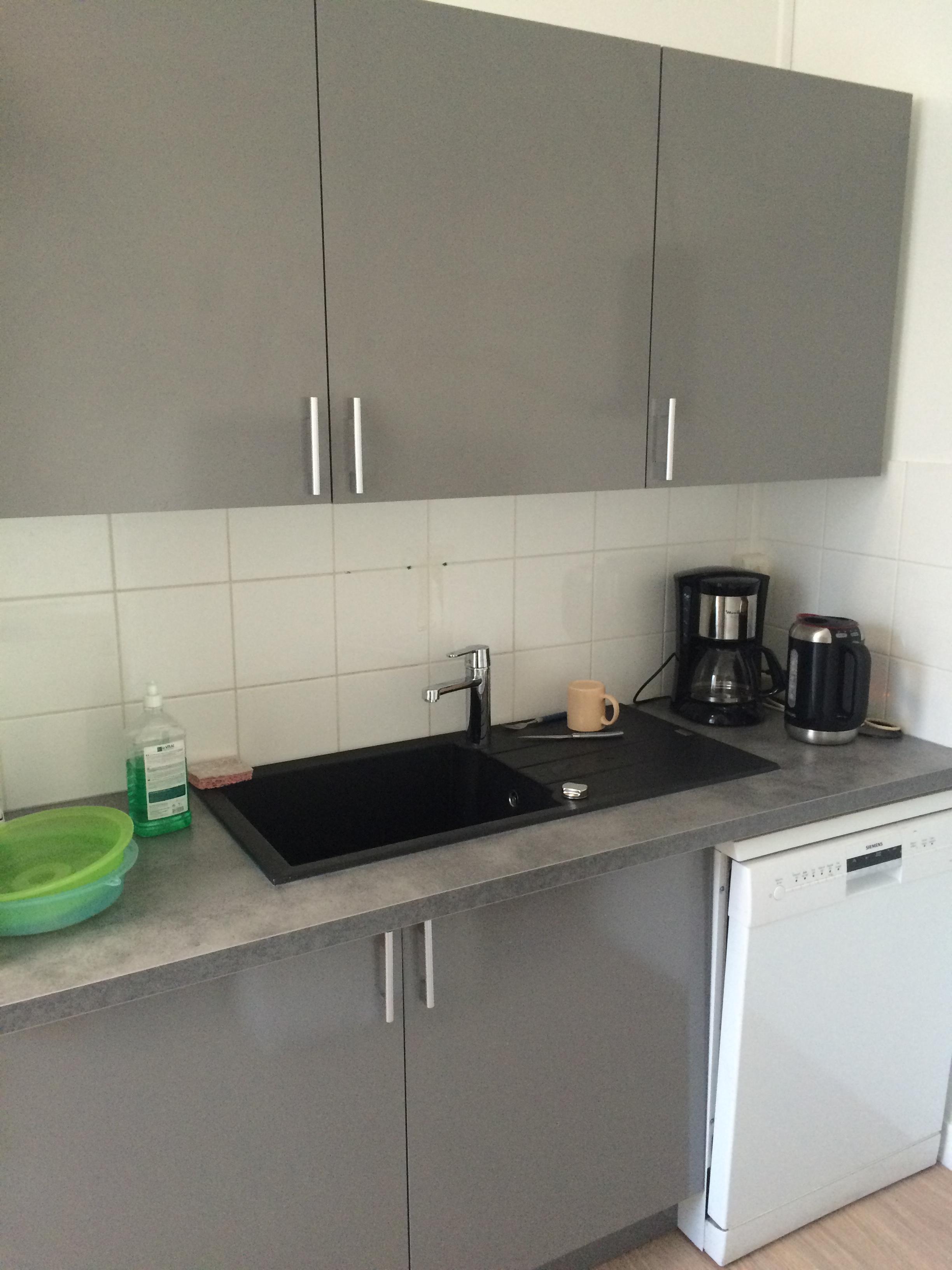 aménagement cuisine et salle de repos | espace cloisons alu ile de