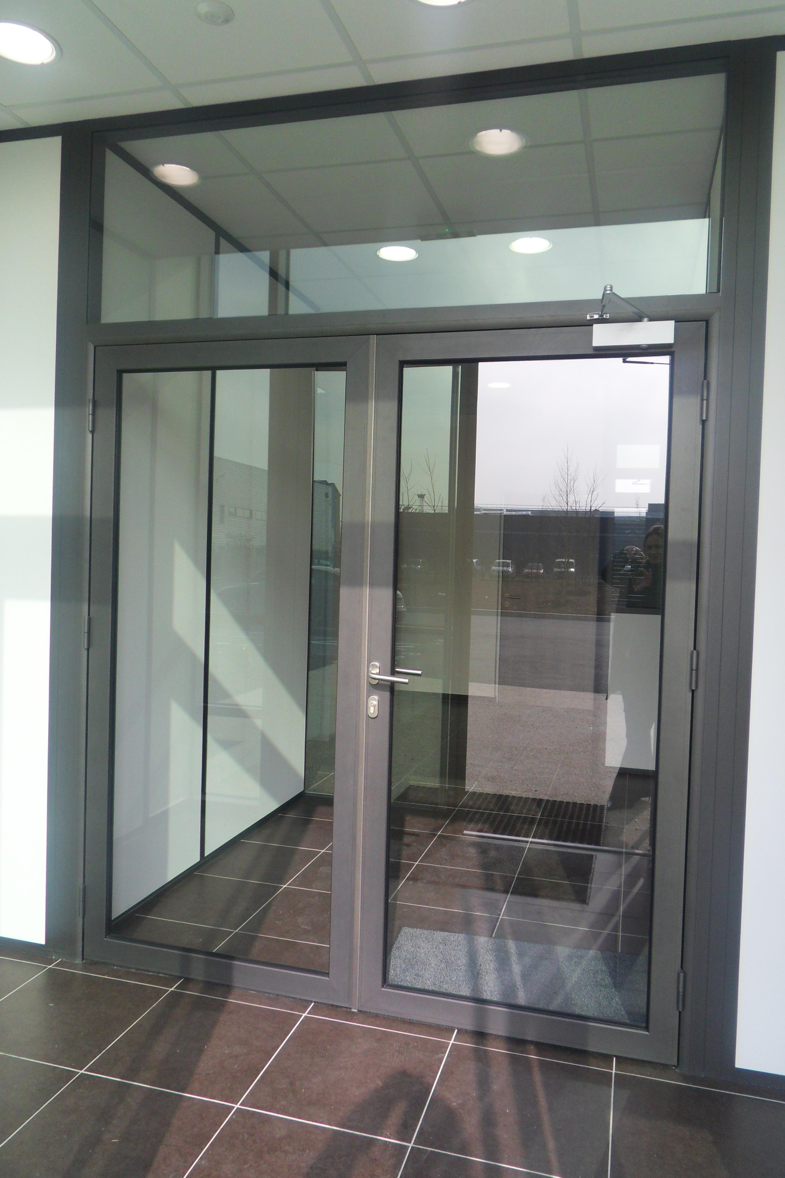 Porte De Chambre Avec Vitre les portes pour cloisons amovibles de bureau | espace